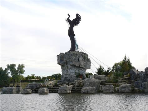 Wichita: Indian Statue and Rocks | Flickr - Photo Sharing!