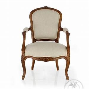 Fauteuil De Style : fauteuil de style ancien saulaie ~ Teatrodelosmanantiales.com Idées de Décoration
