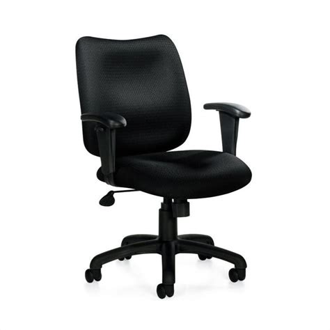 office chairs with arms office chair with arms in black otg11612b