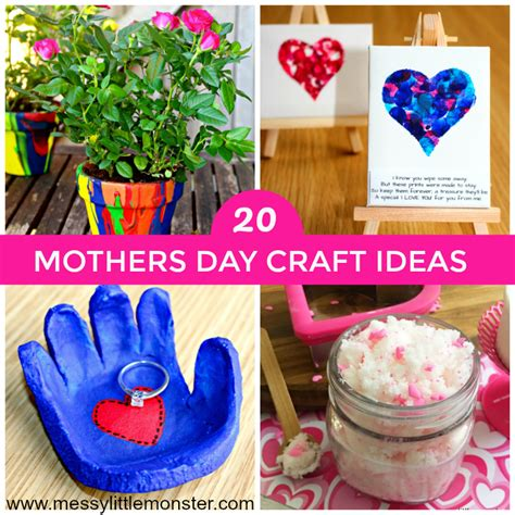 mothers day craft ideas messy  monster