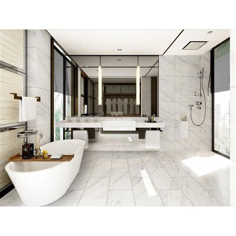 floor decor on 290 volakas plus polished porcelain tile porcelain tile porcelain and bath