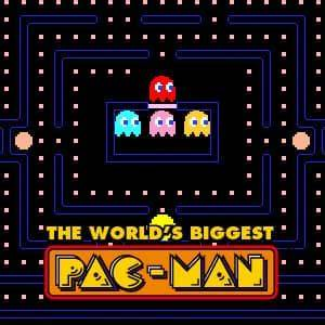 World's Biggest PAC-MAN game - Funny-Games.co.uk