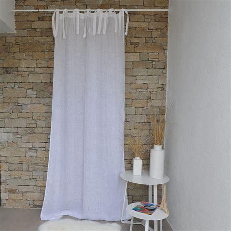 rideau gaze de blanc maison d 233 t 233