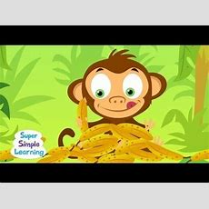 Counting Bananas  Super Simple Songs  Youtube  Learning Songs 2 To 5  Pinterest Count