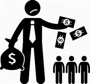 Dividend, money, paying, people, shareholders icon   Icon ...