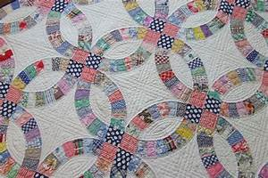 double wedding ring pattern tim latimer quilts etc With double wedding ring quilt template