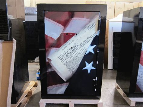 custom graphics  local gun safe company huntington