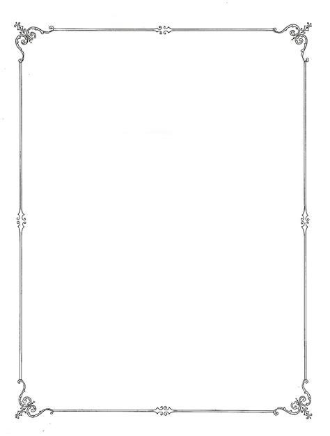 simplecornerborderclipart clip art borders