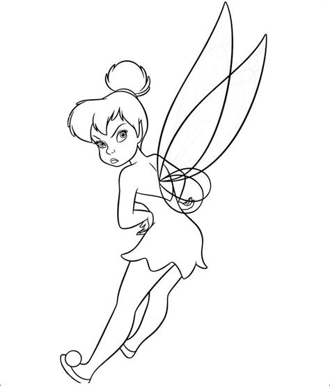 tinkerbell coloring pages  coloring pages  premium templates