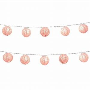 Paper Lantern String Lights in Fuchsia-76101 - The Home Depot