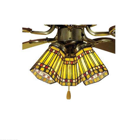 prairie style ceiling fan meyda tiffany 4 quot w prairie corn fan light shade ceiling