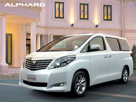 Toyota Alphard Hd Picture by 2013 Toyota Alphard Pictures Information And Specs
