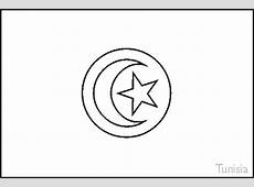 Colouring Book of Flags North Africa