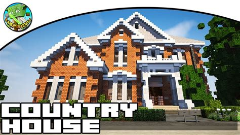 minecraft country house minecraft country house with andyisyoda