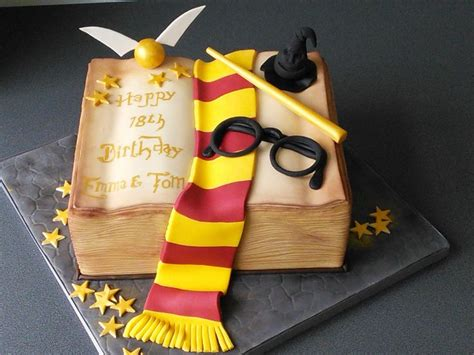 Th  Ee  Birthday Ee   Harry Potter Spell Book With Scarfnd