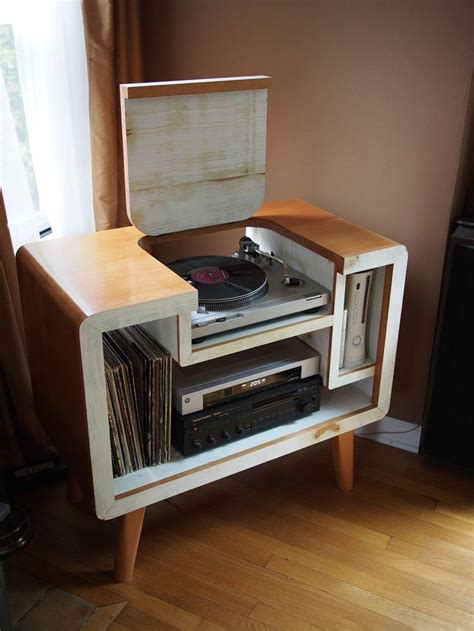 17 best ideas about record player stand on
