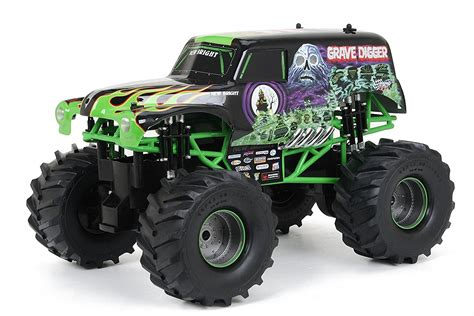 grave digger remote control monster truck grave digger monster truck remote control 1 10 scale big 2