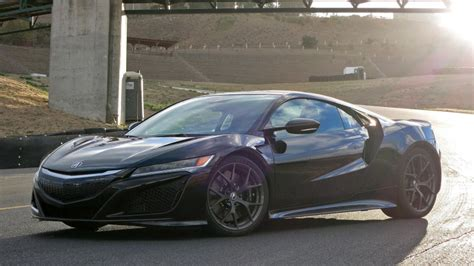 2017 acura nsx first drive w video autoblog