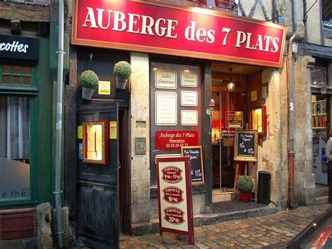 restaurant auberge des 7 plats le mans tourisme en