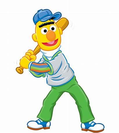 Sesame Bert Clipart Street Clip Elmo Cliparts