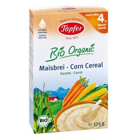 Topfer Organic Corn Cereal Carrot reviews