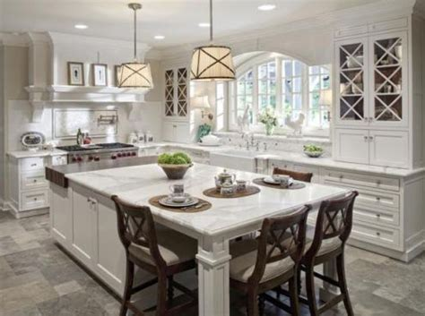 Decorative Kitchen Islands With Seating