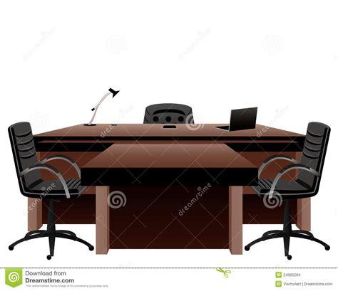 bureau directeur le bureau du directeur illustration de vecteur