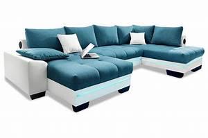 Couch Mit Led Und Sound : wohnlandschaft nikita mit led und sound und schlaffunktion weiss sofas zum halben preis ~ Bigdaddyawards.com Haus und Dekorationen