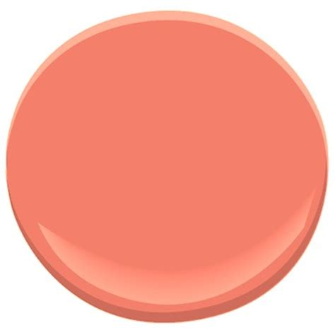 benjamin s tucson coral 005 is a great coral to choose for your coral paint color pair