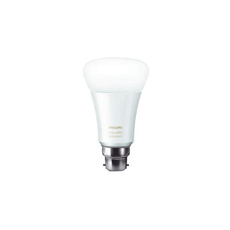 philips hue light bulbs philips hue ambient white led smart light bulb b22 for