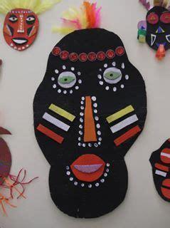 afrikanische masken basteln pin regenbogenzauberin auf basteln afrikanische