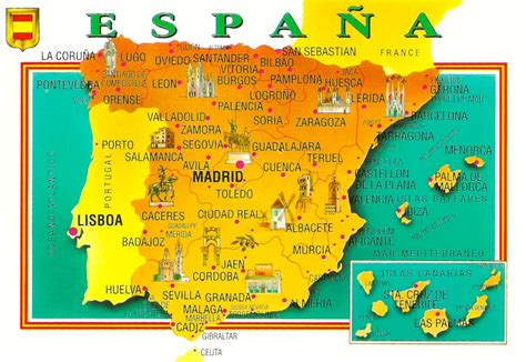 My Favorite Views Spain Map With Canary Islands