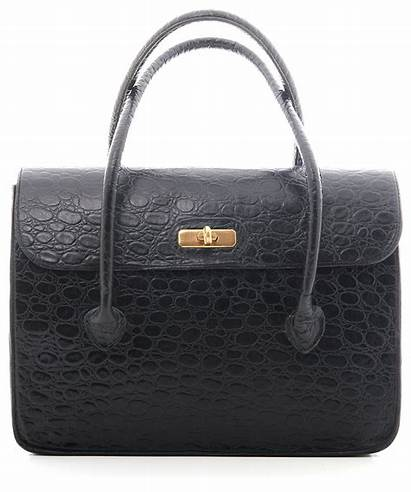 Mulberry Leather Embossed Croc Handbag Handbags Bags