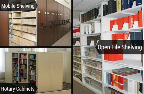 Types of Filing Equipment Office Furniture & File Storage