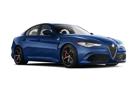 2018 Alfa Romeo Giulia Quadrifoglio · Monthly Lease Deals