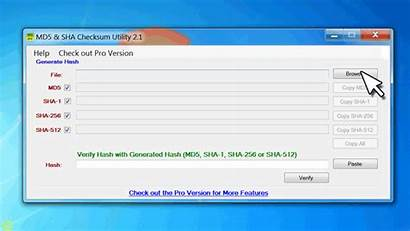 Sha Verify Md5 Downloads Using