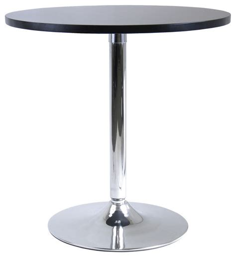 29 inch table legs winsome wood spectrum 29 inch round dinning table w metal