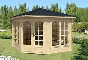Wochenendhäuser Aus Holz : 5 eck gartenh user online kaufen gartenhaus gmbh ~ Frokenaadalensverden.com Haus und Dekorationen