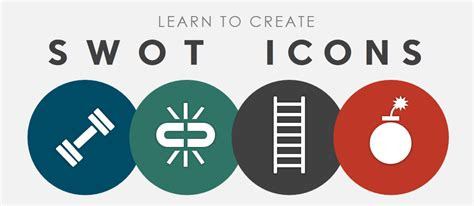 Learn To Create Swot Analysis Icons In Powerpoint