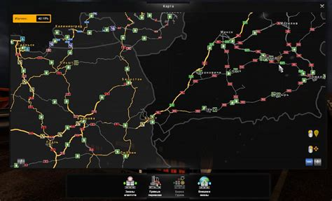truck simulator 2 beyond the baltic sea fix rusmap beyond the baltic sea v1 0 map mod