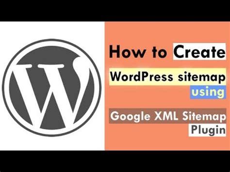 How Create Sitemap Using Google Xml