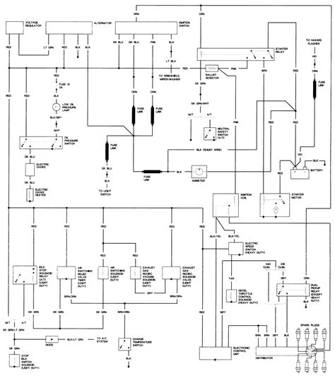 Wiring Diagram 1985 Dodge Roadtrek by Wiring Diagram For 1985 Dodge Power Ram 150 Custom