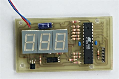 tuxgraphics org mini 3 digit display an inexpensive
