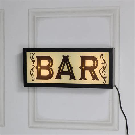 retro bar wall mounted box light melody maison 174