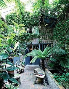 La Verriere Sur Cour : un patio int rieur aux ambiances m lang es jardins ps et jungles ~ Preciouscoupons.com Idées de Décoration