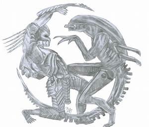 Alien vs Predator by LadyAno on DeviantArt