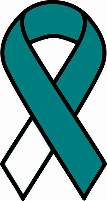 Cancer Ribbon Cervical Clipart Svg