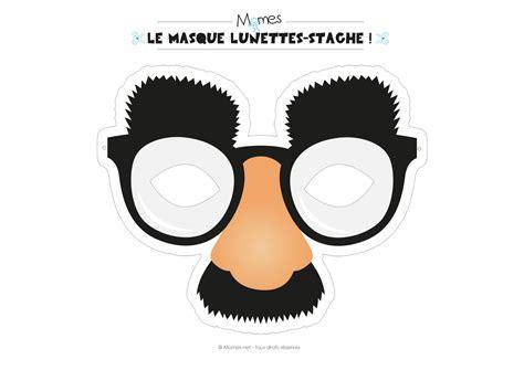 chambre des enfants masque nez lunette et moustache momes
