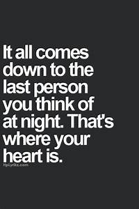 The Last Person You Think About At Night Pictures, Photos ...