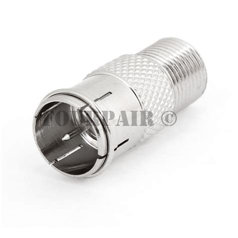 Type Quick Plug Coax Coaxial Cable Adapter Connector